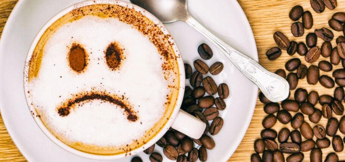 Unhappy coffee