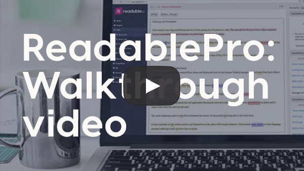 ReadablePro walkthrough video